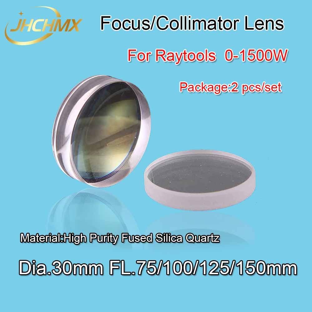 Free Shipping Fiber Laser Focus Lens/Collimator Lens Dia.30 Fl.75/100/125/150mm For Raytools BT240 0-1500W Laser Cutting Head цены онлайн