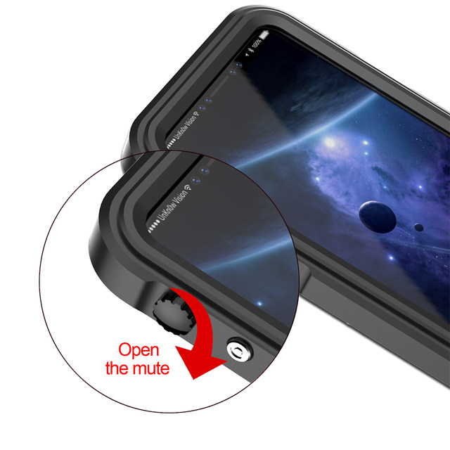 Ascromy For iPhone X Case Shockproof IP68 Waterproof Metal Bumper Cover For Appe iPhone 7 Plus 8 8plus Water Proof Accessories (3)