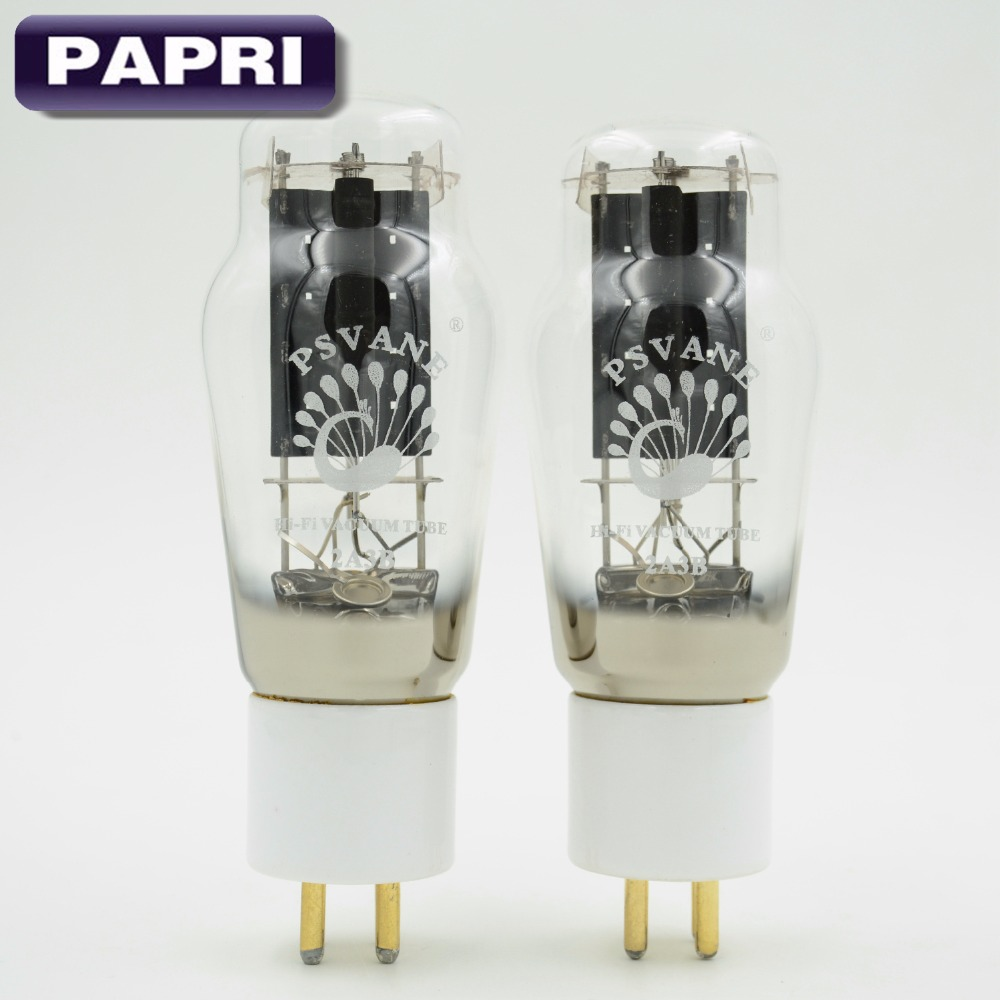 купить 1Matched Pair PSVANE HIFI 2A3B Amplifier Vacuum Tube Audio New Treasure Tube Factory Tested Replace 2A3 Original Factory Test по цене 5811.75 рублей