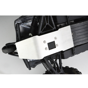 Image 2 - rc parts Stainless steel skid plate chassis armor protection for SAVAGE FLUX XL 4.6 5.9