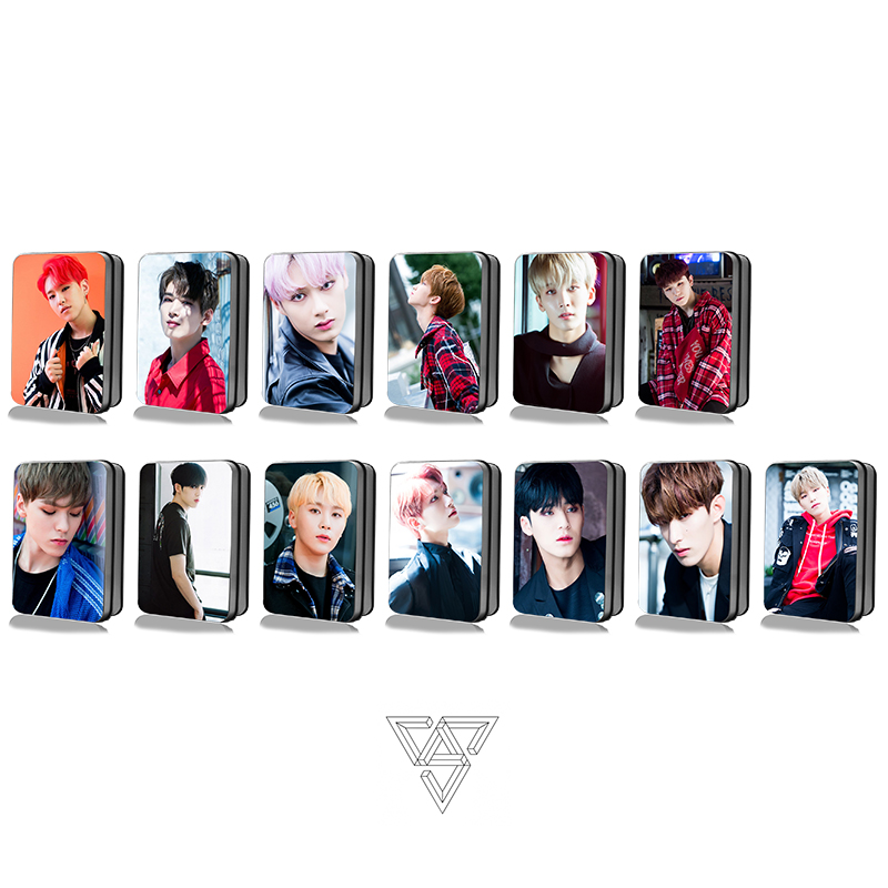 Diplomatic Kpop Seventeen Polaroid Lomo Photo Card New Album Hd Photocards Collective Posters 30pcs/box With The Best Service Jewelry Findings & Components
