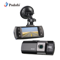 Podofo AT550 Car DVR Camera Novatek 96650 Full HD 1080P Video Registrator Recorder G Sensor Black