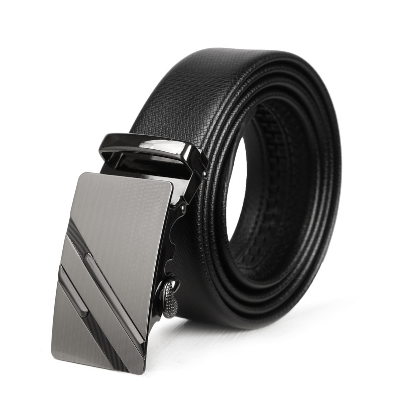 New Brand Automatic Buckle Genuine Leather Belts For Men Belt Luxury Brand Strap Man Fashion Male Belts Cinto Hombre