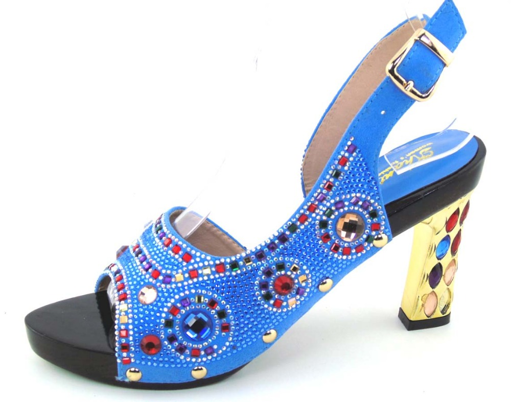 ФОТО Whoesale Elegant Women's Shoes Nice Looking African Sandals Shoes Free Shipping MOH1-45