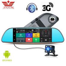 ANSTAR 3G VOITURE DVR Double Lentille Caméra FHD 1080 P Dash Cam vidéo Vue Arrière Miroir Android GPS Navigation Aide Au Stationnement Pour Voitures