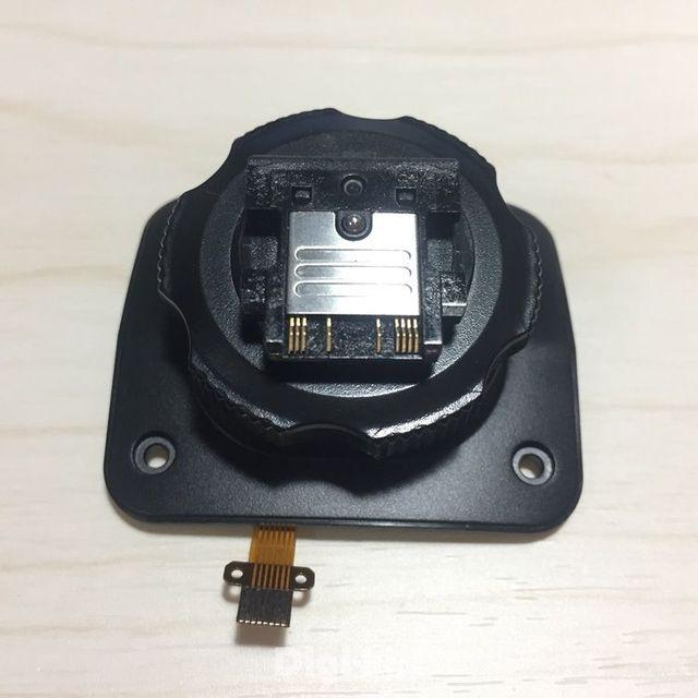 Neue Godox Heißer Schuh montage fuß für Godox V860IIS V860II S V860 S V860S Flash Speedlite reparatur fix teile