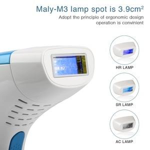 Image 4 - MLAY 500000 çekim fabrika ücretsiz kargo! MLAY IPL ev lazer pigmentasyon aparatı 3 lamba ile otomatik modu flash