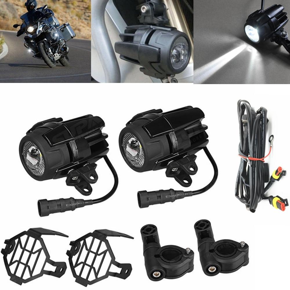 2Pcs Universal Motorcycle LED Driving Fog Spot Light spotlight headlight For Ducati Honda for BMW Kawasaki yamaha Suzuki чехол клип кейс samsung для samsung galaxy note 8 clear cover great прозрачный ef qn950ctegru