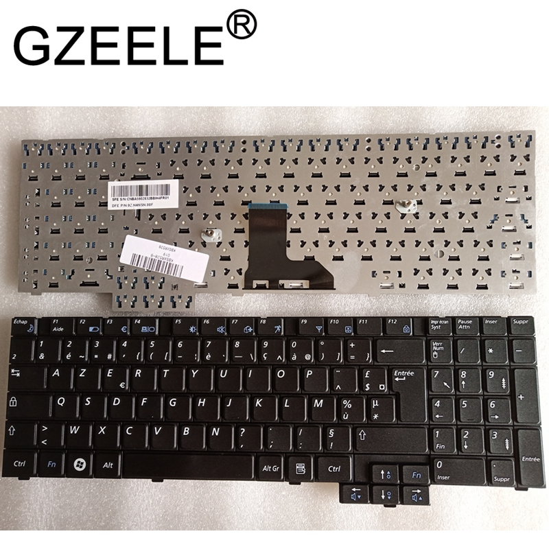 Fr-Keyboard NP-R530 Samsung R528 R519 French GZEELE for R530/Np-r528/Np-r530/..