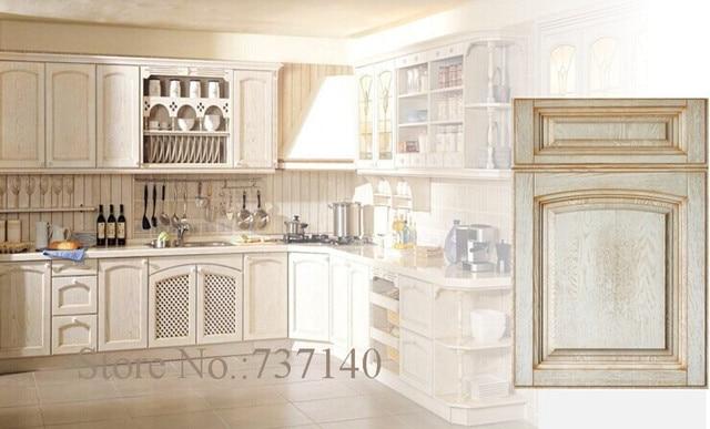 Massivholz küchenschränke eichenholz küchenschrank Foshan möbel ...
