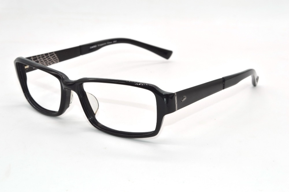 acetate frame alloy temple black custom made prescription nearsighted glasses reading glasses photochromic 1 to