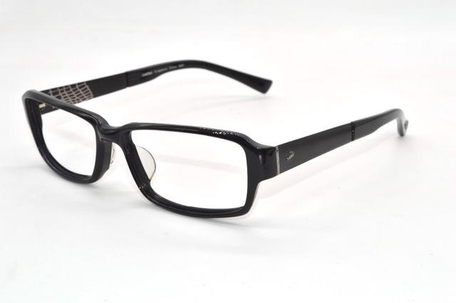 Liga de Armação de acetato templo preto Custom Made óculos míopes Prescrição Photochromic óculos de leitura-1 a-6 + 1 a + 6