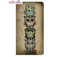 Owl Needlework 5D Diy Diamond Embroidery Full Resin Diamond With Animal Picture Home Decor Mosaic Diy