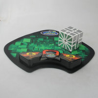 SS Speed Cubing Timer Clock Machine and Mat for Puzzle Cube Accessory for Competition Game Best Gift For Kid Toys