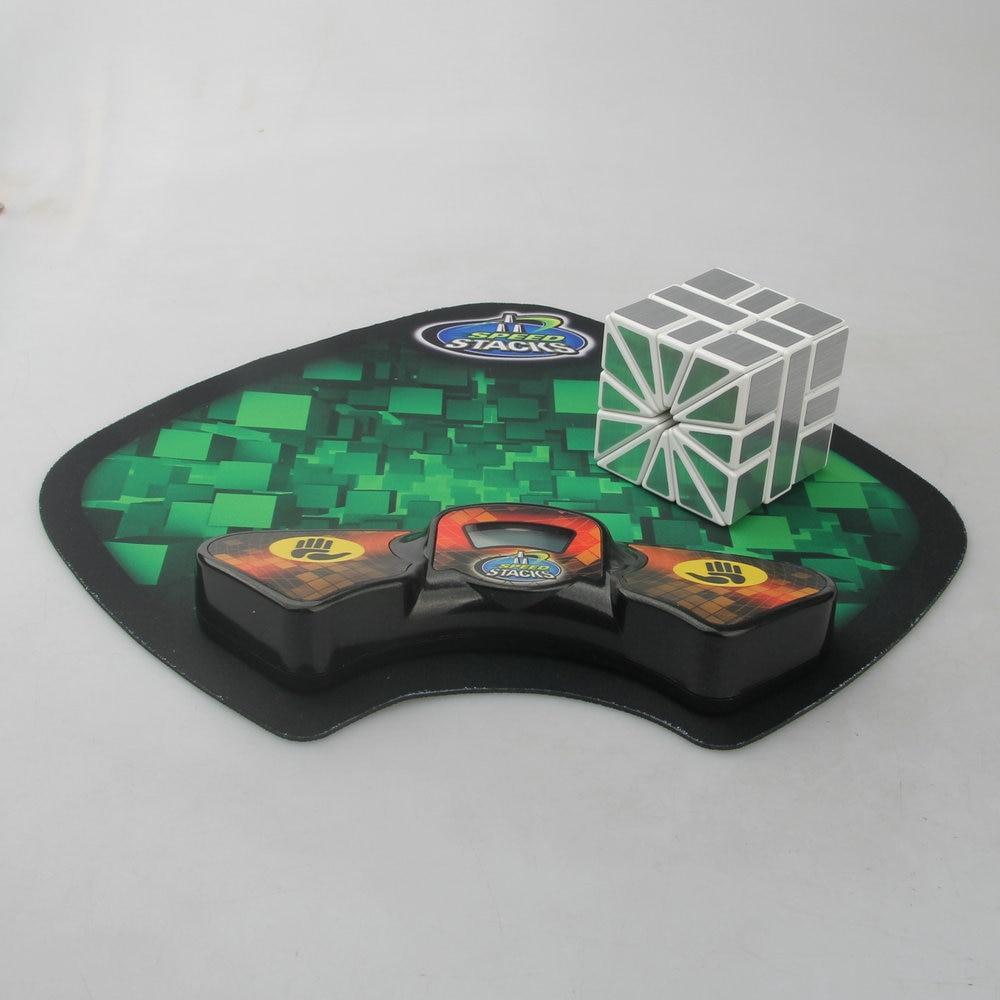 SS Vitesse Cubage Minuterie Horloge Machine et Tapis pour Puzzle Cube Accessoire pour Concurrence Jeu Meilleur Cadeau Pour Enfant Jouets