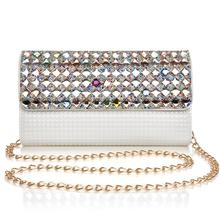 Women handbags diamond day clutch fashion one shoulder cross-body dinner chain the trend of female clutch bag