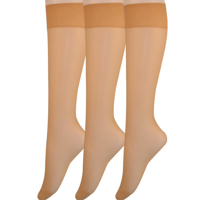 10f7465d8 Detail Feedback Questions about 2019 Spring Summer Women s 6 Pair Pack 20D Silky  Sheer Knee Hi Nylon Socks Over the Knee Socks Women Knee High Socks on ...