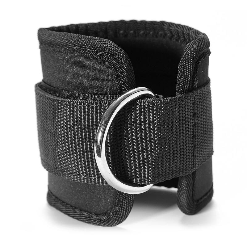 Sports Accessories 1pcs Fitness Adjustable D-ring Ankle Straps Foot Support Ankle Protector Gym Leg Pullery With Buckle Sports Feet Guard 3colors Sports Safety