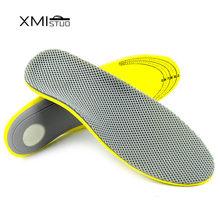 41db87b3b XMISTUO 3D Confortável Órteses pé plano Palmilha Ortopédicos Arch Suporte  Palmilhas para Sapatos insert pad para a fascite plant.
