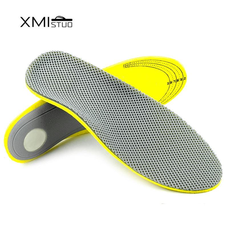 XMISTUO 3D אורתוטיים נוחות רגל שטוח מדרסים אורטופדיים עבור נעליים להוסיף כרית תמיכה Arch עבור plantar fasciitis