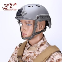 FMA FAST Tactical Helmet PJ Version Military Airsoft Wargame Headgear Round Hole Head Protector Outdoor Sport Accessories