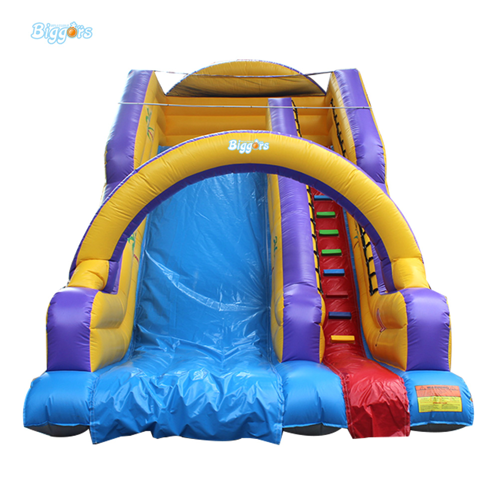 Durable Slide Inflatable Water Slide Commercial Grade PVC Material For Sale цена