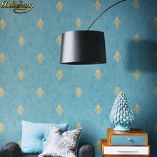 beibehang European minimalist Damascus wallpaper bedroom living room TV background 3d flooring wall paper roll Ceiling tapeten beibehang chinese rich floral pattern gold foil paper gold living room bedroom tv background works wallpaper 3d flooring