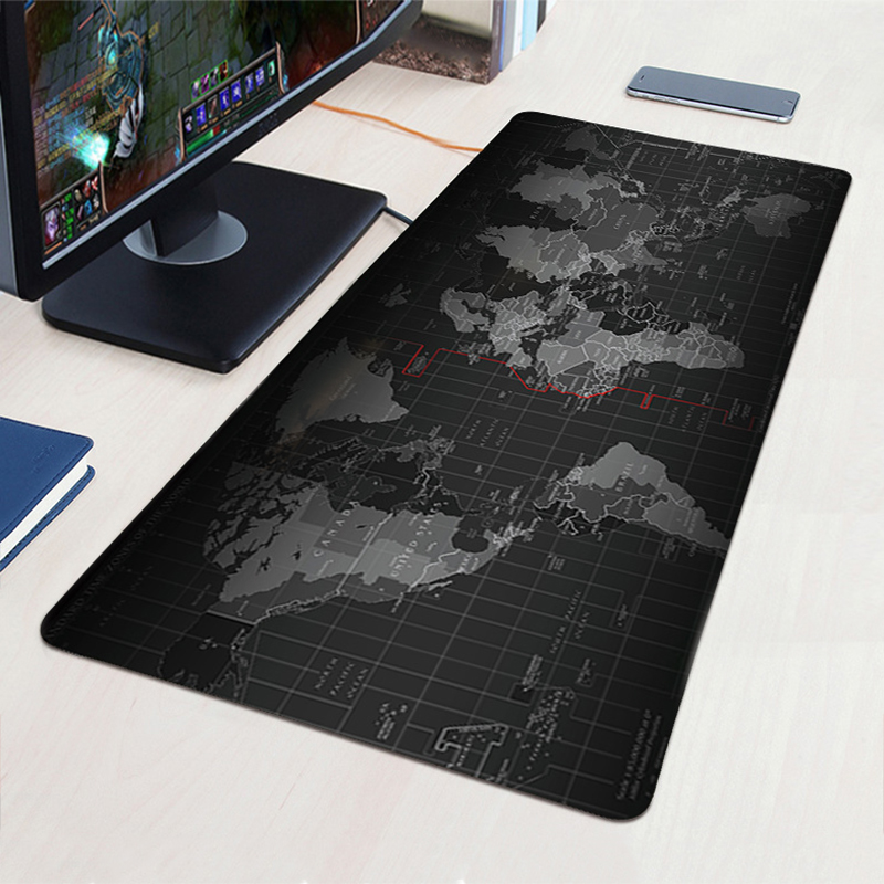 World map large gaming mouse pad keyboard mat anti slip mousepad world map large gaming mouse pad keyboard mat anti slip mousepad natural rubber cloth huge size mousepad for dota 2 cs go lol in mouse pads from computer gumiabroncs Choice Image