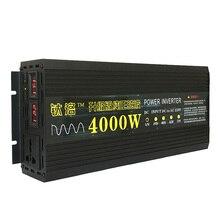 Чистая Синусоидальная инверторная 12V 24V 48V 60V до 220V 2000W 3000W 5000W 50HZ Бортовая бытовые фотоэлектрические