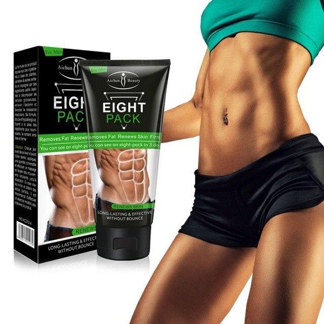 e7a6de0d7 170 ML Eficaz Poderoso Homens Mulheres Músculo Mais Forte Creme Anti  Celulite Queima de Gordura Creme