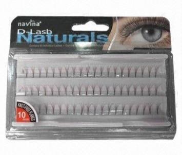 Free shipping 60box/lot 8 in a eyelash planting false eyelash/