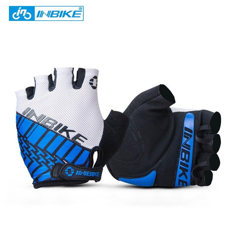INBIKE Men s Half Finger Bike font b Gloves b font Bicycle font b Gloves b