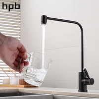 HPB Brass Oil Rubber Bronze Cold Water Reverse Osmosis Kitchen Drinking Faucet Pure Filter Purified Spout