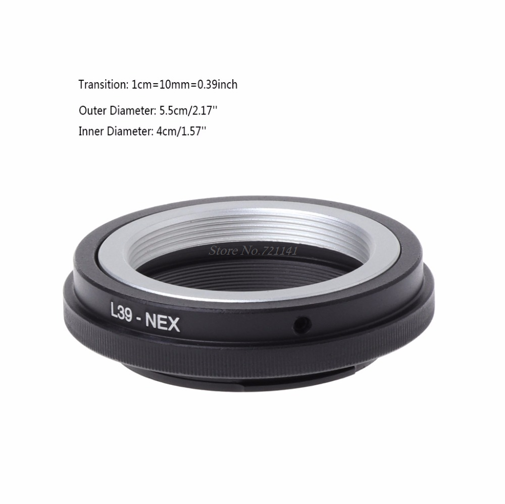 L39-NEX Mount Adapter Ring For Leica L39 M39 Lens To For Sony NEX 3/C3/5/5n/6/7 New 2018 Electronics Stocks