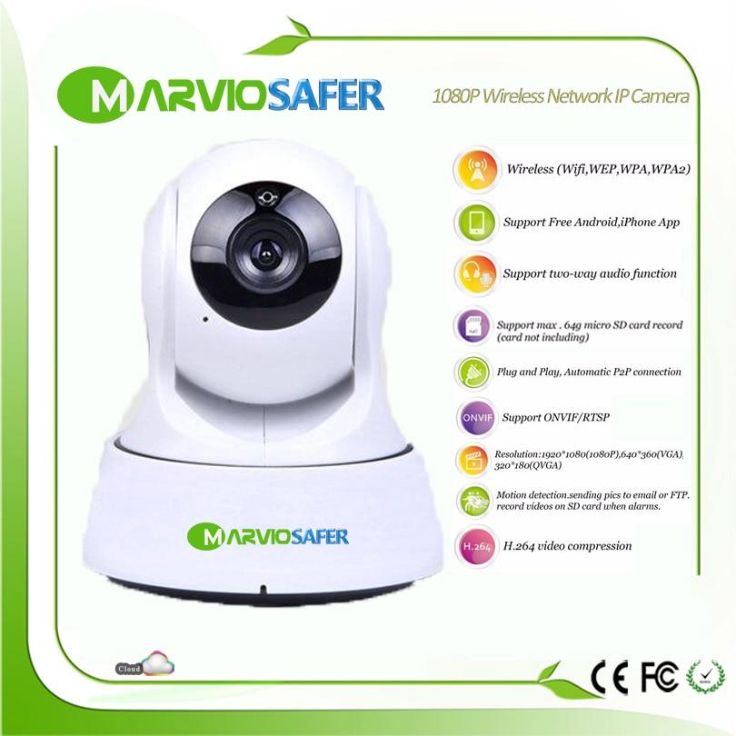Hot 1080P Full HD 960P 2 Million Pixel Night Vision IR Webcam Web CCTV wi fi Network Camera WIFI Wireless IP Camera PTZ Video