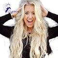 Mejor cabello! virgen #60 rubia brasileña peluca de cabello humano peluca llena del cordón sin cola del frente del cordón pelucas para mujeres blancas envío gratuito
