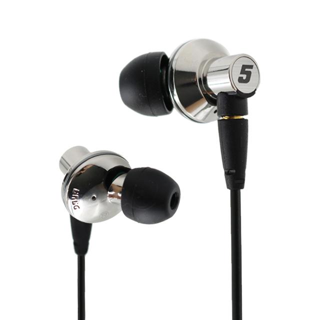 Dunu titan 5 titan5 titan-5 titanium dinâmica diafragma de alta fidelidade hifi inner-ear earphone