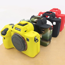 Soft Camera Video Bag Silicone Case Rubber Camera Case Cover Protective Body Cover Skin For Sony A9 A7R III A7R3 A7 Mark3 A7 III