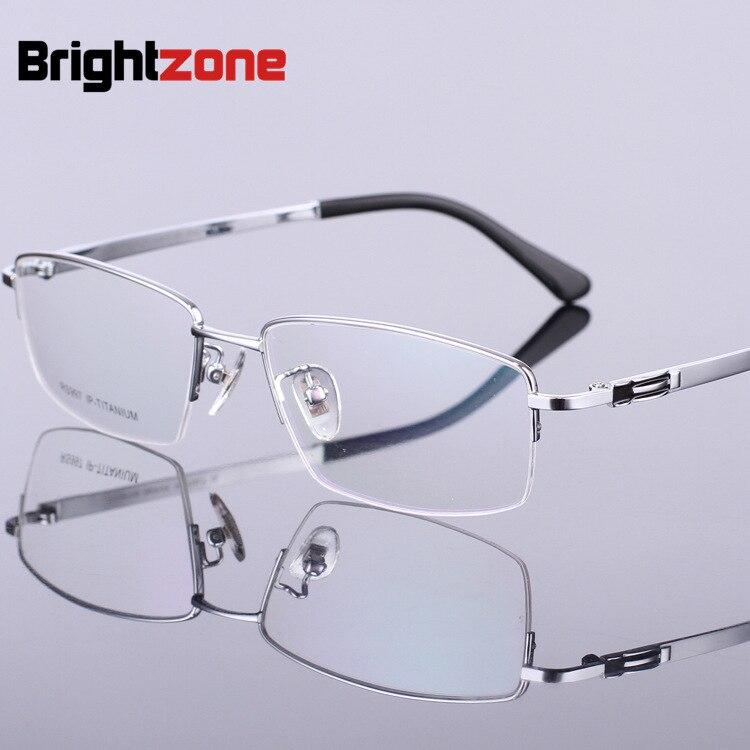 ②Miopía gafas Marcos titanio puro masculino Gafas Marcos puro ...