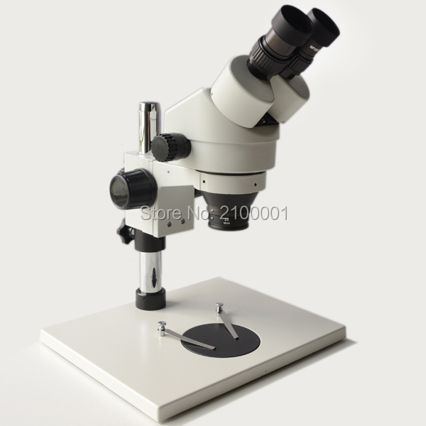 Free Shipping 7X-90X Binocular Stereo Zoom Microscope Solder motherboard repair cellphone microscope free shipping 3 5x 90x table pillar stand zoom magnification binocular stereo microscope inspect pcb microscope 144led