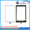 New 8'' inch For Acer Iconia One 8 B1-810 Touch Screen Digitizer Glass Lens Capacitive Handwritten Panel Free shipping