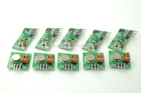 5 Conjuntos De 433 Mhz RF Transmissor Sem Fio + Receptor de Link Kit Módulo