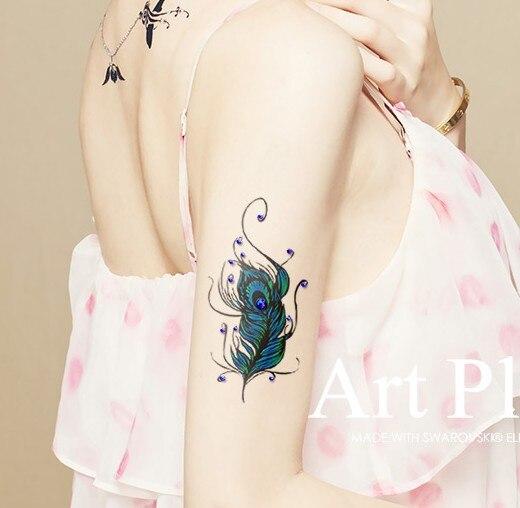 Plumas De Pavo Real Para Tatuajes Sfb