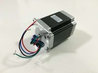 Nema 23 Stepper Motor 57HS41 2804 0.55N.m 2.8A 4 Lead, 41mm CNC Mill Cut Laser Engraving for 3d