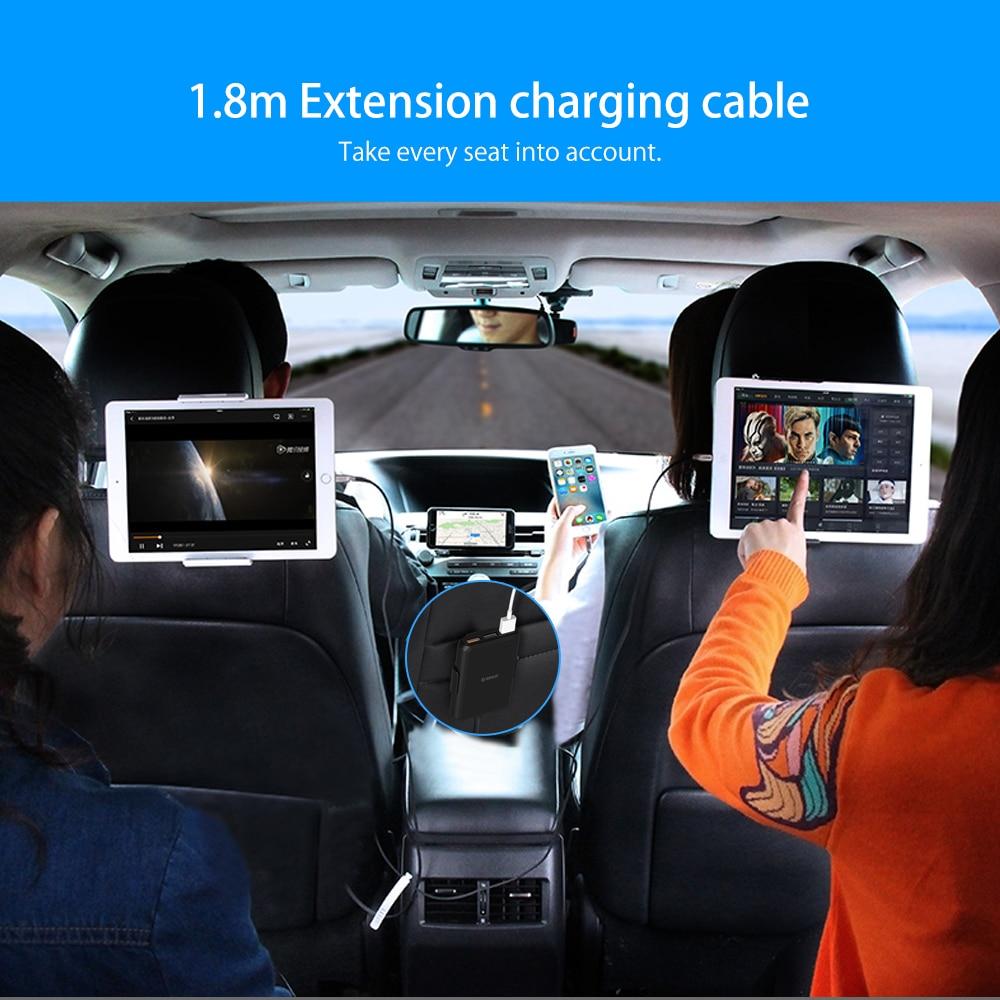 MPIC Avtomobil Mobil Telefonlar Tablet PC 12V / 24V üçün ORICO - Cib telefonu aksesuarları və hissələri - Fotoqrafiya 2