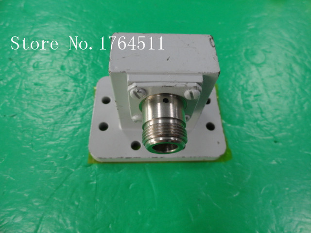 [BELLA] MITEC M0926-5-1 5.85-8.2GHZ N Female Connector To C Band Waveguide Interface