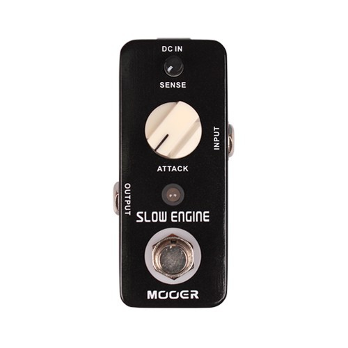 Mooer Full Metal Shell Slow Engine Guitar Effect Pedal Sound Like a Violin True Bypass ams 3 mod station modulation ensemble guitar effect pedal aroma mini digita pedals effects with true bypass full metal shell