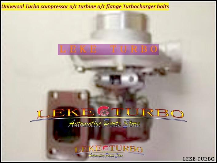 Universal Turbo GT35-1 Compressor AR 0.70 Turbine AR 0.63 ; T3 flange 5 bolt ;Oil Cooled External Wastegate Journal bearing kinugawa turbine outlet steel flange 5 bolt f rd falcon xr6 g rr tt gt3540 turbo 412 03002 006