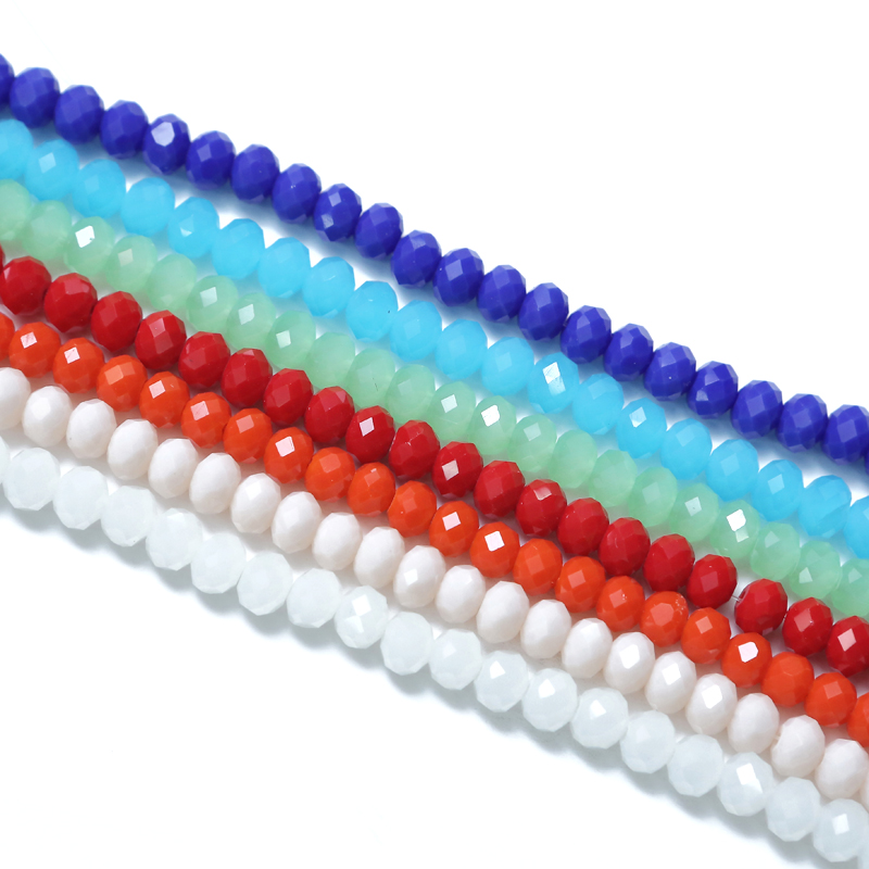 SALE! Lucia Crafts 98pcs 6mm Multi colors option Loose Crystal Beads/Glass Beads for DIY Handmade Accessories 028012030