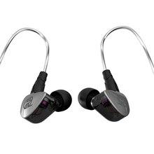BGVP SGZ-DN1 Drivers de Armadura Balanceada + Híbrido Dinâmico IEM HI-FI Fone de ouvido Baixo Fones de ouvido Fones de Ouvido Destacável MMCX